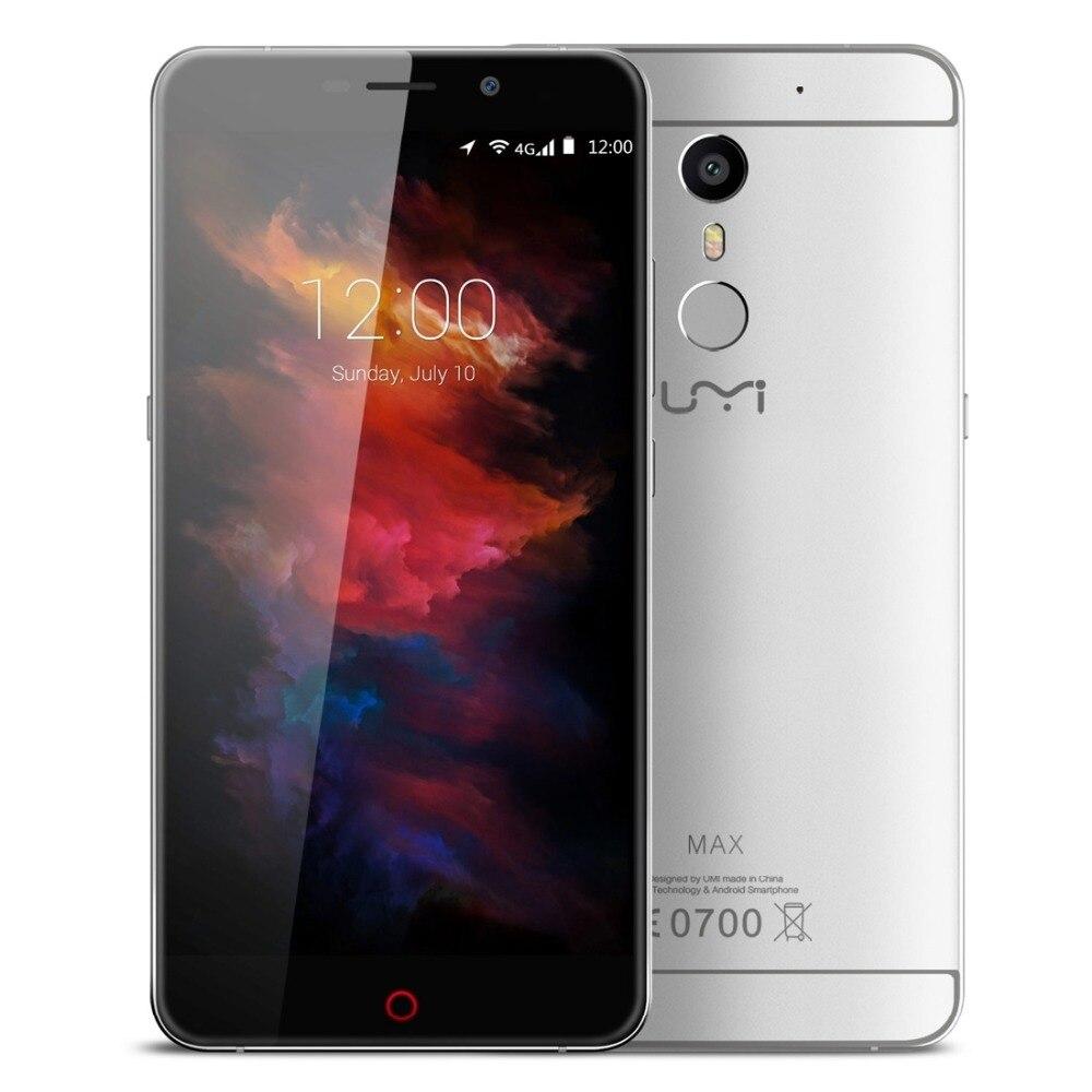 Original Umi Max Android 6.0 Helio P10 Octa Core Smartphone s