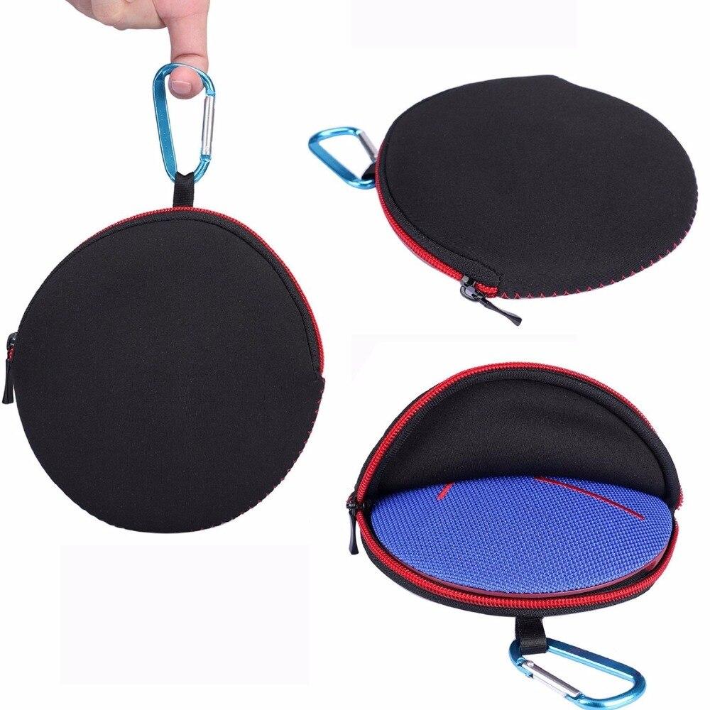 2018 New Top Travel Zipper Sleeve Case Bag For UE ROLL 2 Logitech UE ROLL 360 Wireless Portable Bluetooth Speaker (Bag)