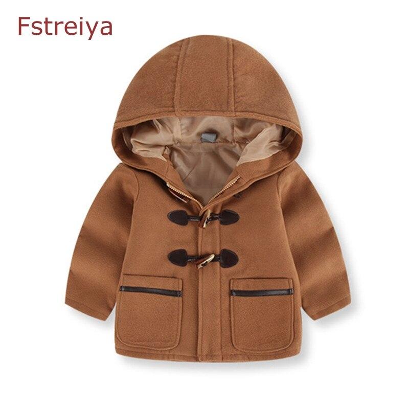 Обувь для мальчиков зима берберский флис Пальто для будущих мам толстые шерстяные Куртки Дети Осень и зима верхняя одежда для детей куртка ...
