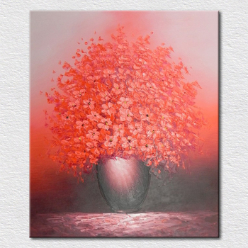 Hot sale European-style hand-painted oil painting Textured painting the living plants and flowers painting