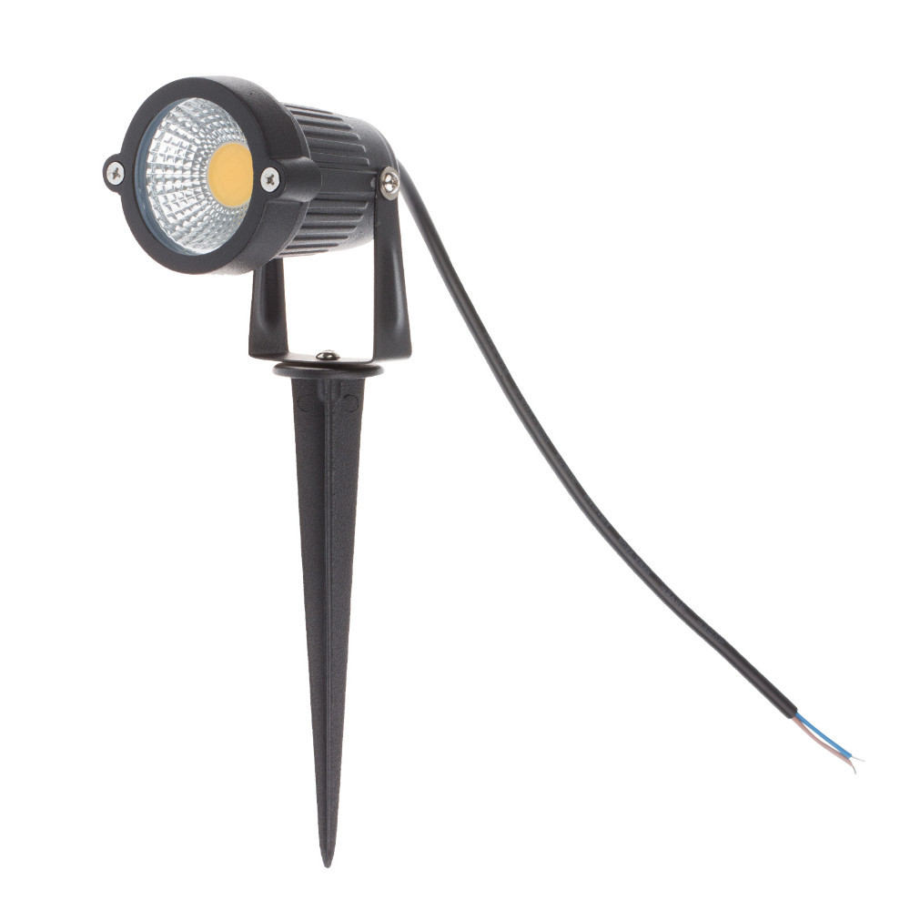 Waterproof LED COB Lawn Lamps 12V Garden Light Warm / Cold White Outdoor  Lighting With Insert