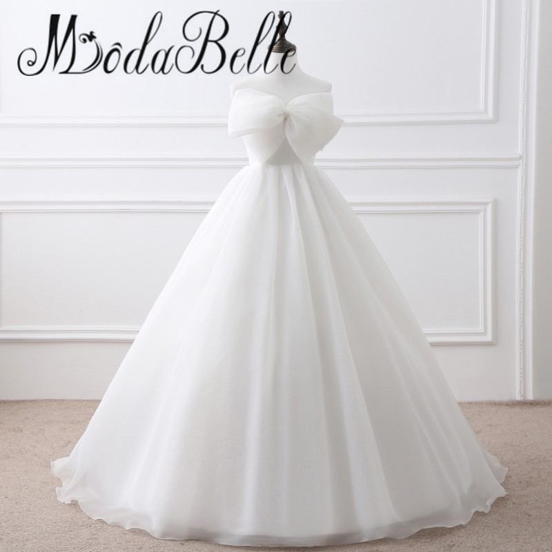 2017 Vintage Ivory Wedding Under 100 Real Photo Dubai Princess Ball Gown Bow