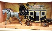 Out of print 1:12 oversized 6 inch war horse carriage Zorro model toy craft ornaments model