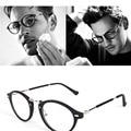 Nuevos Hombres y mujeres marco gafas gafas de lectura gafas retro marco redondo plano