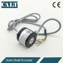 Good Price 38mm 5v Line Driver Incremental Rotary Encoder 360 500 1000 1024 2000 2500 PPR Pulse GHS38 Similar to E6B2 Encoder e6b2 cwz6c 2500 p r incremental rotary encoder npn out put