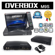 OVERBOX M9S Satellite TV Receiver Digital Freesat FTA Full HD Internet TV Support 2xUSB USB Wifi  Newcamd IPTV DVB-S2