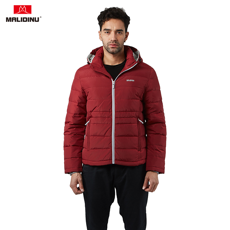 MALIDINU 2019 Men   Down   Jacket Winter   Down     Coat   White Duck   Down   Jacket Hooded   Down   Parka Winter Jacket Sport   Coat   For Man -30C