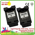 Чернильные картриджи картридж Восстановленный для 302 XL HP302 HP302XL 302XL Envy 4516 4520 4522 4523 струйный принтер