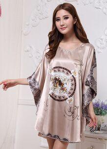 2017 Nuevo estilo de verano de seda tentación princesa del otoño del resorte elegante noble traje de ropa interior más el tamaño el envío libre