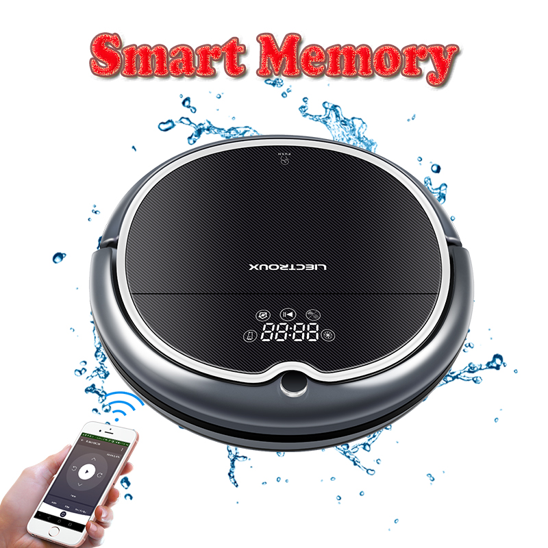 EU Warehouse LIECTROUX Robot Vacuum Cleaner Q8000 Map Navigation APP Contral Suction 3000Pa Wet Dry