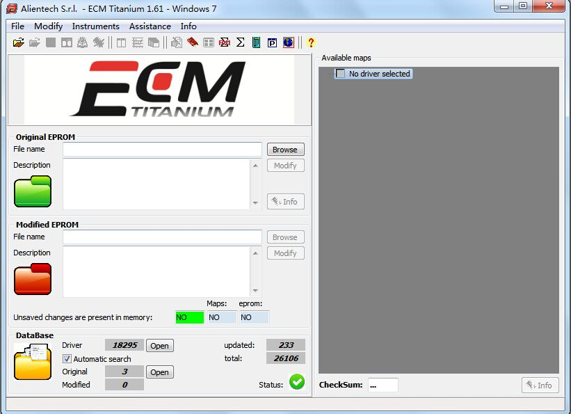 ECM TITANIUM 1.61 With 18259+ Driver for KESS V2 and Ktag ECM 26000+ Software