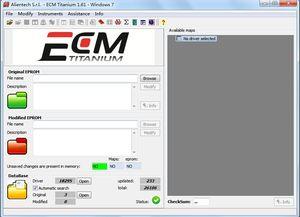 ECM TITANIUM 1.61 With 18259+ Driver for KESS V2 and Ktag ECM 26000+ Software