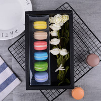 10pcs/Lot Romantic Valentine's gift Box Macaron/Candy/Chocolate/cake Packing boxes Wedding Favors Paper Blank Storage Gift bags