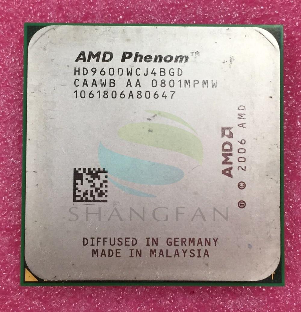 AMD Phenom X4 9600 Quad-Core De Bureau 2.3 GHz CPU HD9600WCJ4BGD HD960BWCJ4BGH HD960ZWCJ4BGD Socket AM2 +/940pin