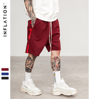 INFLATON Side Stripe Fashion Shorts Summer Men Shorts Men Shorts Summer Men Short Sweatpants Mens Women