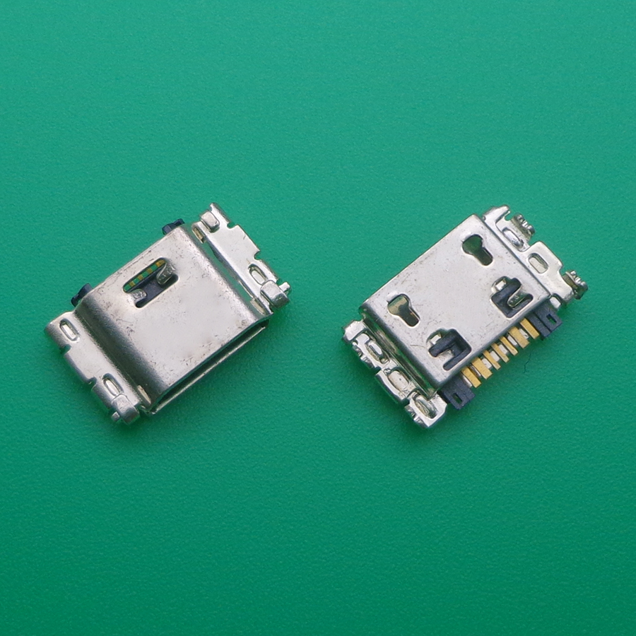20pcs/lot Micro USB Charging Port Jack Connector For Samsung J5 SM-J500 J1 SM-J100 J100 J500 J5008 J500F J7 J700 J700F J7008