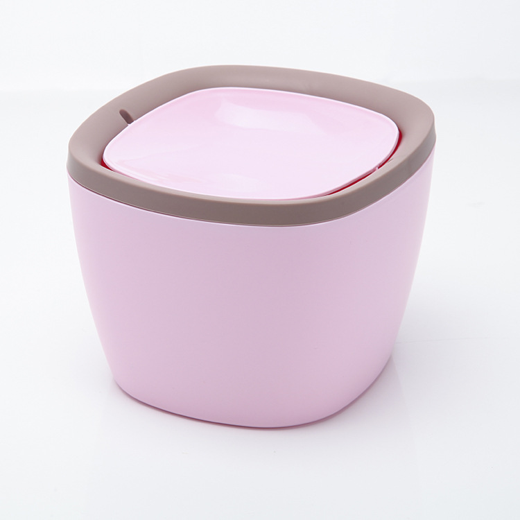 Luluhut Mini masaüstü çöp çöp çöp kutusu çöp kutusu - Evdeki Organizasyon ve Depolama - Fotoğraf 5