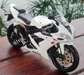 Maisto 1:12 Scale Diecast White YAMAHA YZF-R1 Motorcycle Model Toys For Children