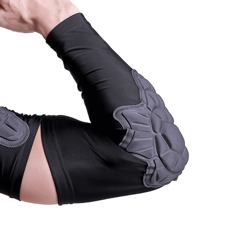 1PC Compression Elbow Brace Pad Guard Padded Arm Support Sleeve Protector Basketball Football Skateboarding Sportswear