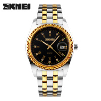 Men Business Quartz Watch SKMEI Luxury Brand Fashion Watches Analog Quartz Watch 30M Waterproof Relogio Masculino