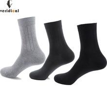 VERIDICAL good quality men socks cotton long business harajuku Diabetic fluffy socks meias masculino calcetines 5