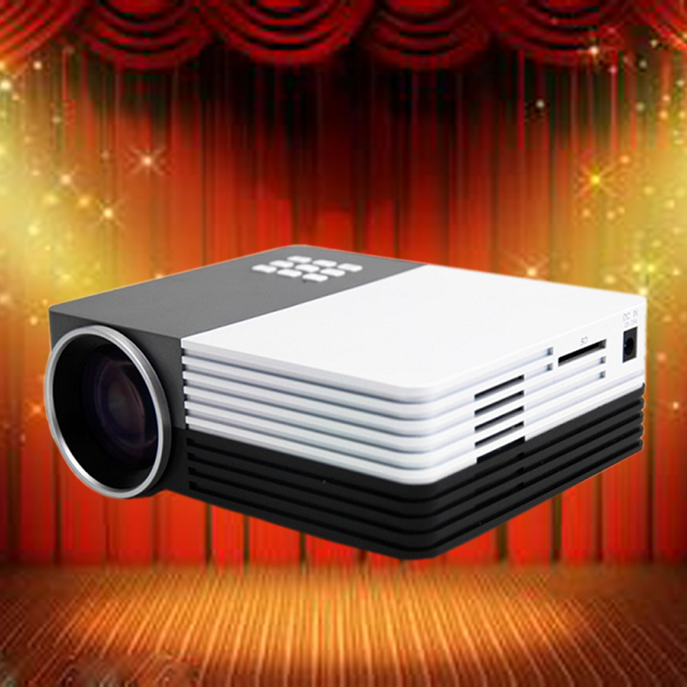 GM50 1080P 3D Home Cinema Projector Full HD Proyector Beamer Projector