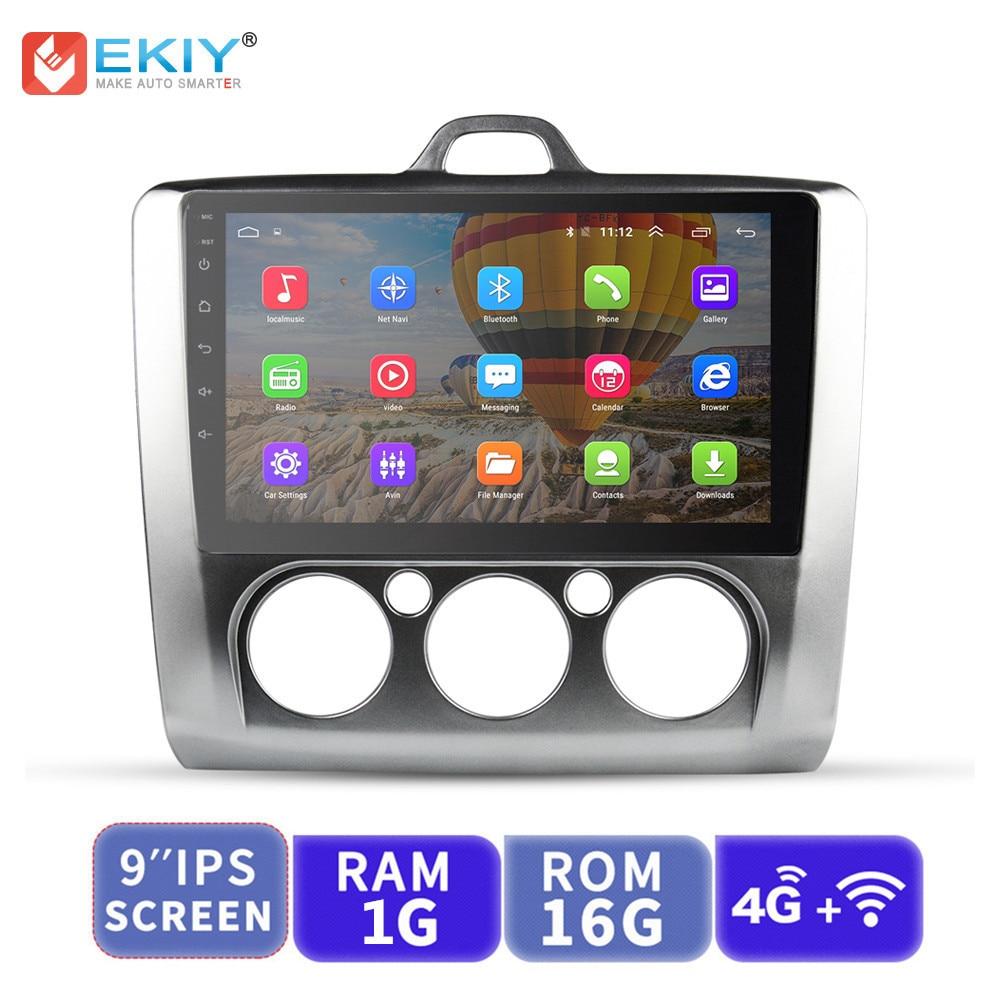 EKIY Car Multimedia Video Player GPS Navigation Android Autoradio For Ford Focus 2 3 Mk2 Mk3 Head Unit 1G+16G with 4G ModemEKIY Car Multimedia Video Player GPS Navigation Android Autoradio For Ford Focus 2 3 Mk2 Mk3 Head Unit 1G+16G with 4G Modem