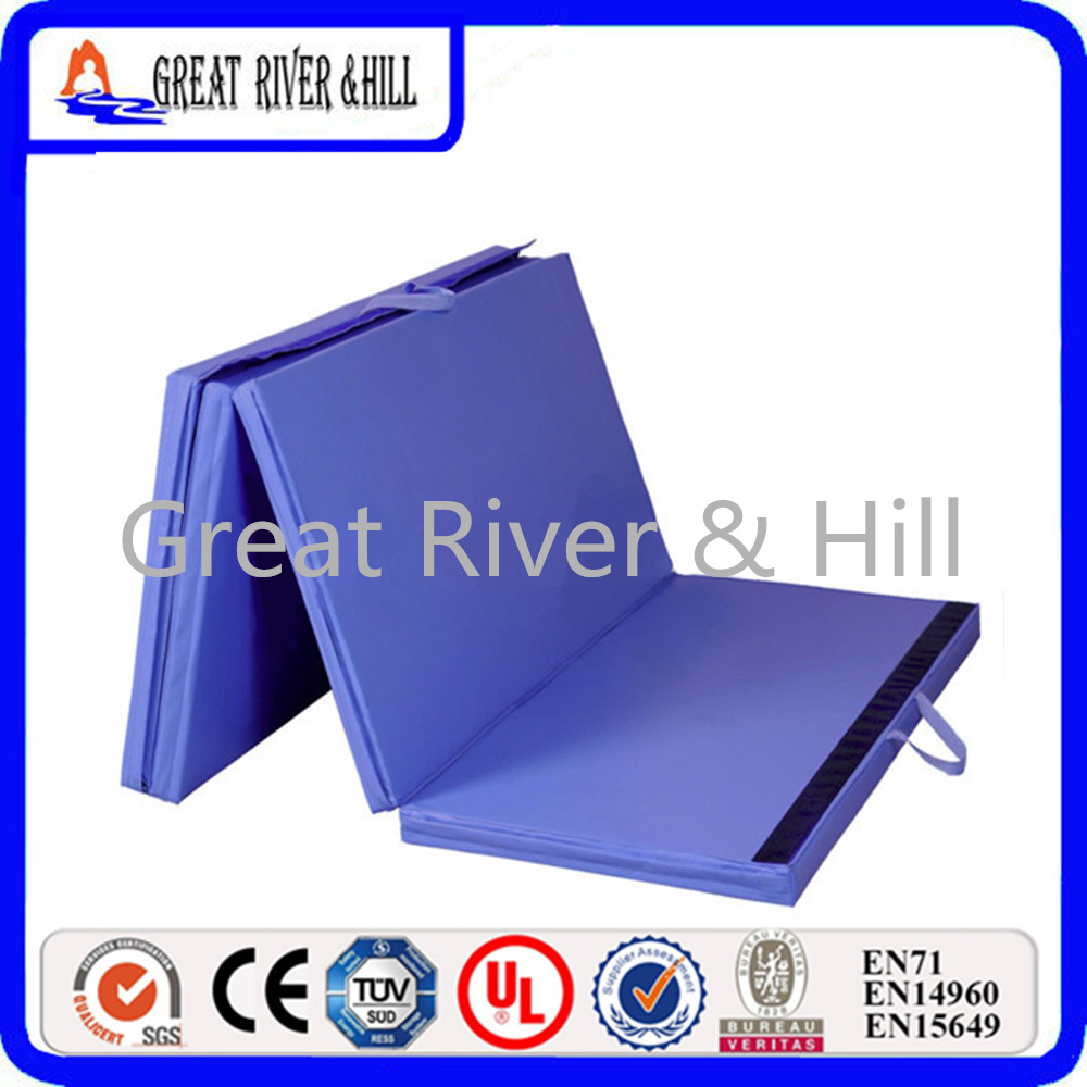 Great River Hill Gymnastics Gym Folding Exercise Mats
