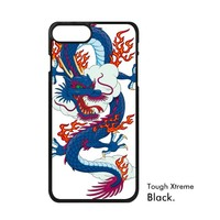 China Chinese Loong Totems City Gate Teacup Pagoda Dragon Myth Animal Phone Case For IPhone X