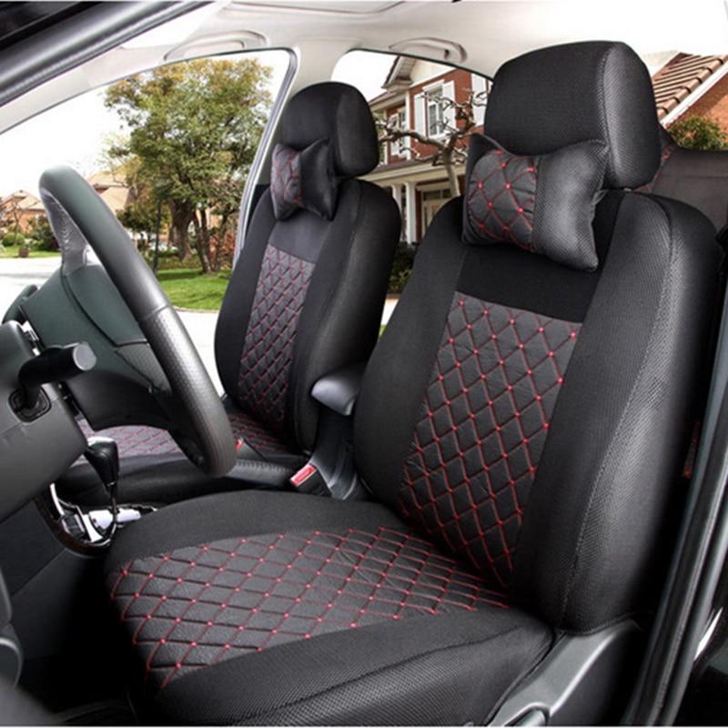 XWSN Universal Car Seat Cover for toyota rav4 corolla chr auris mark 2 wish vitz camry