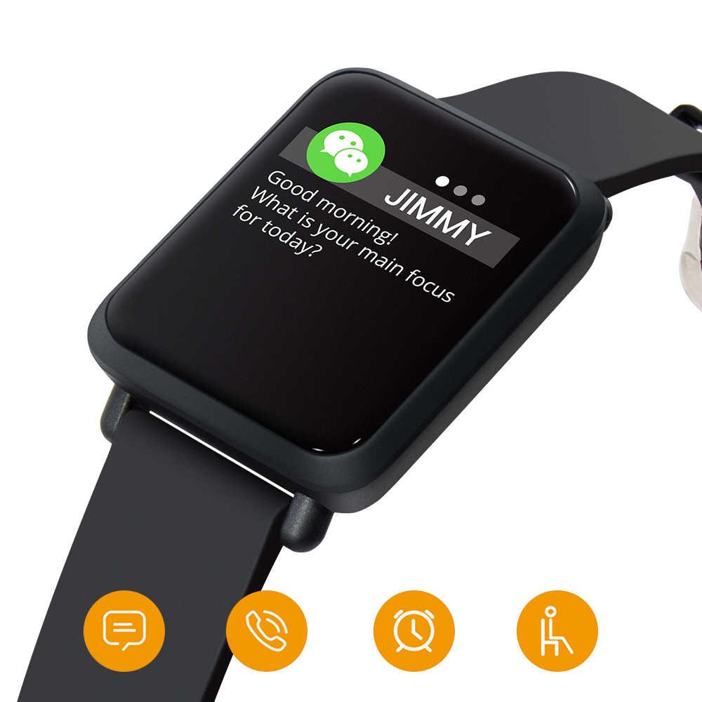 Thể thao Đồng Hồ Thông Minh Vòng Tay Thể Thao Chống Thấm Nước IP68 Đo Nhịp Tim Huyết Áp Đồng Hồ Thông Minh Smartwatch cho Android IOS Xiaomi iPhone