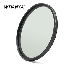 WTIANYA 72mm SLIM Circular Polarizer Polarizing CPL Filter for Canon 80D 70D T6s 18-200, Nikon D500 16-80, Sony 24-240