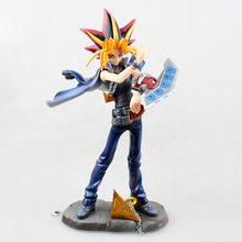 High quality ARTFX J 20cm Yugioh PVC Action Figure Model Toys Doll For childrens Gift With Box Free shipping(China)