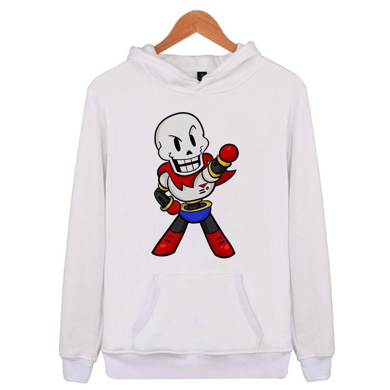 xi0 Undertale Chibi Papyrus 2018 New Hoodies Men Hooded Hoodie Sweatshirts Man Clothes Sportswear Men fashion  X5992