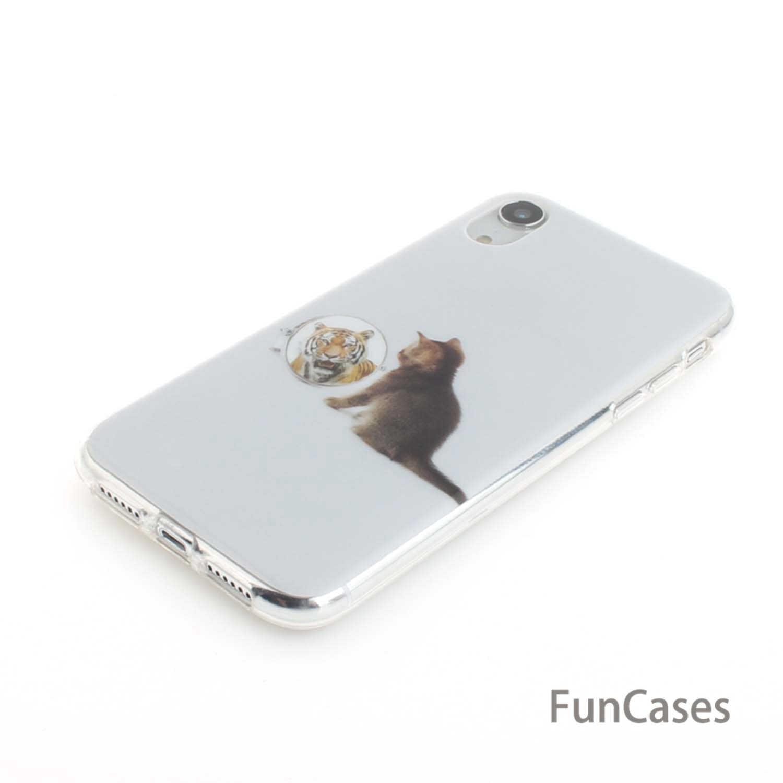 القط لينة TPU الهاتف حالات ل carcaso فون XR الرياضية لطيف حالات فليب حالة سفور Estojo أبل فون estuche 6.1 بوصة حالة