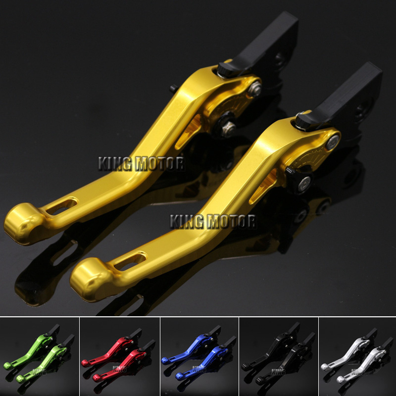 ФОТО Hot Sale Sale Motorcycle Accessories Short Brake Clutch Levers Gold For GILERA Runner 200 2003-2008 Runner 125 1997-2002