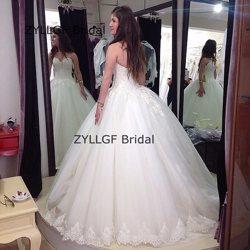 Zyllgf Bridal Fluffy Boho Chic Mother Dress Ball Gown Sweetheart