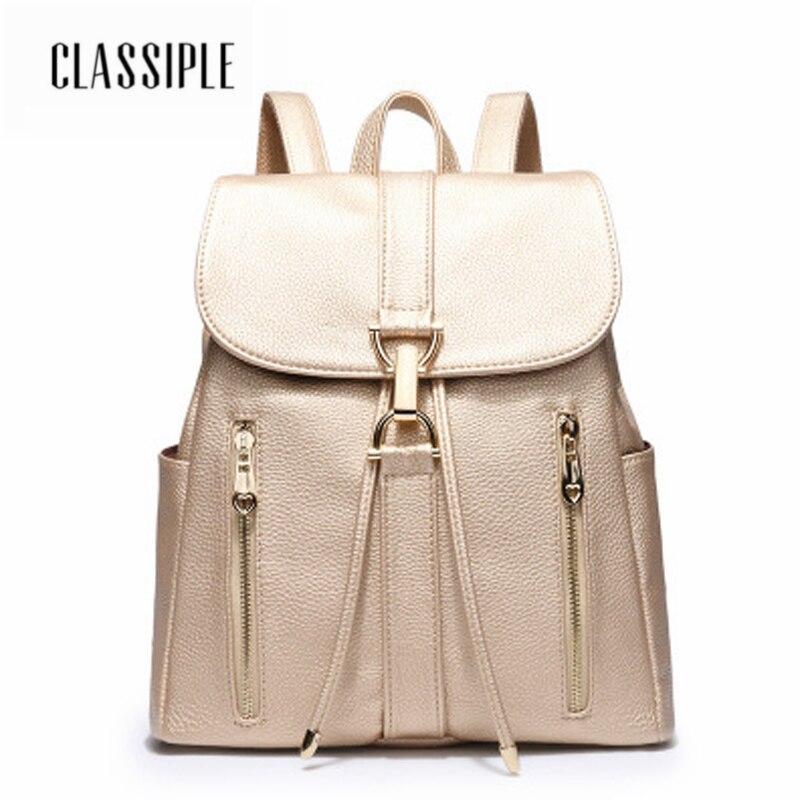 2018 sacs à dos femmes sacs à bandoulière décontracté voyage PU seau sacs blanc sacs d'école pour adolescent fille coréenne grande capacité dames