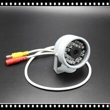 1/4Cmos 1200TVL Hd Mini kamera telewizji przemysłowej na zewnątrz wodoodporny 24Led Night Vision małe wideo monitorowania bezpieczeństwa