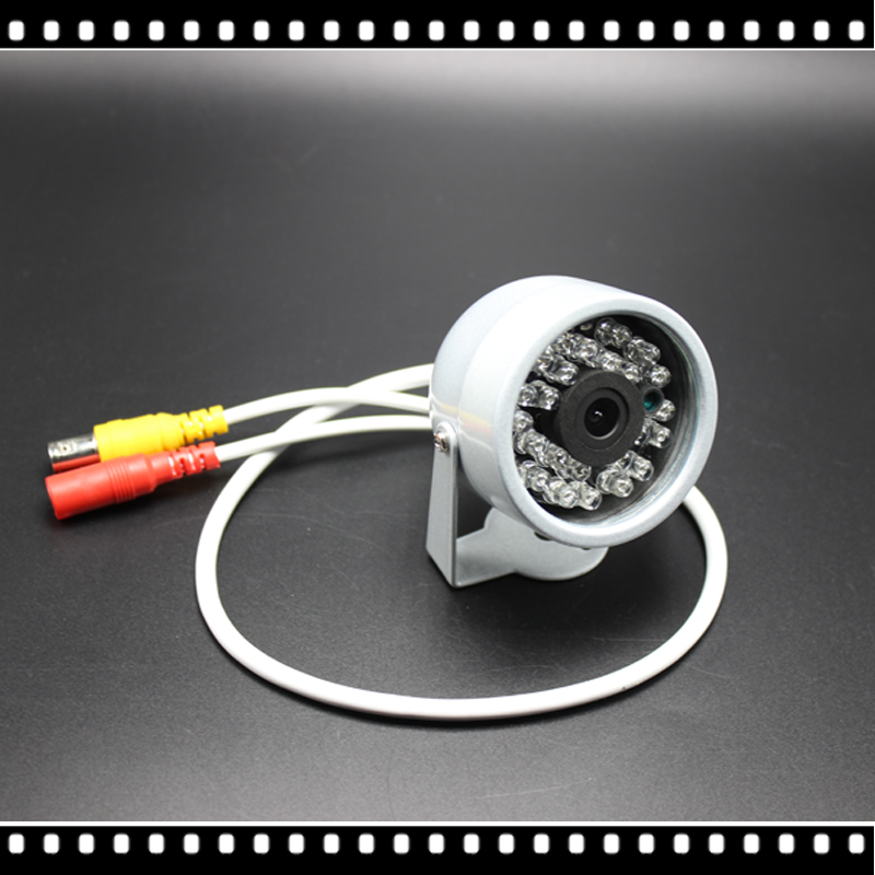 1/4cmos 1200TVL Hd Mini Caméra De Vidéosurveillance Extérieure Imperméable 24Led Vision Nocturne Petite Vidéo de surveillance de sécurité
