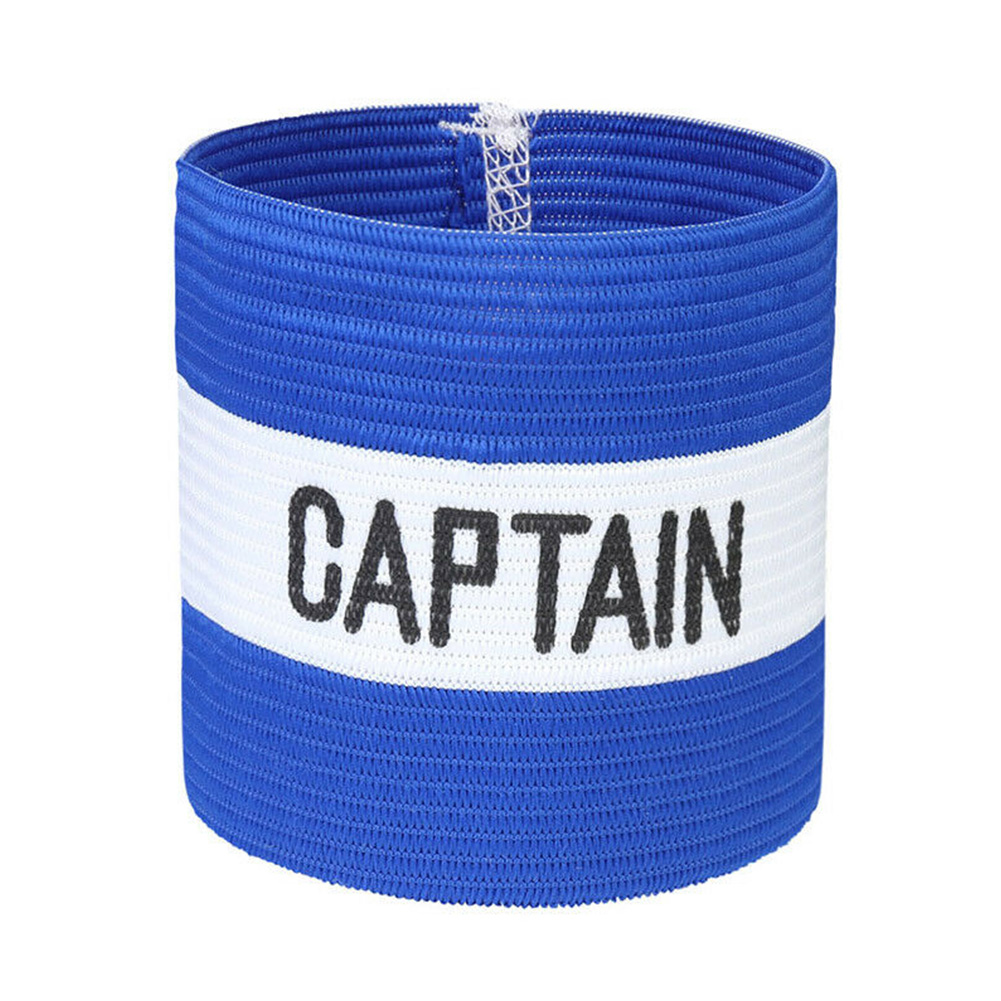 Conspicuous Playground Outdoor Symbol Accessories Sleeve Badge Captain Armband Elastic Leader Football Rugby Hockey Sports