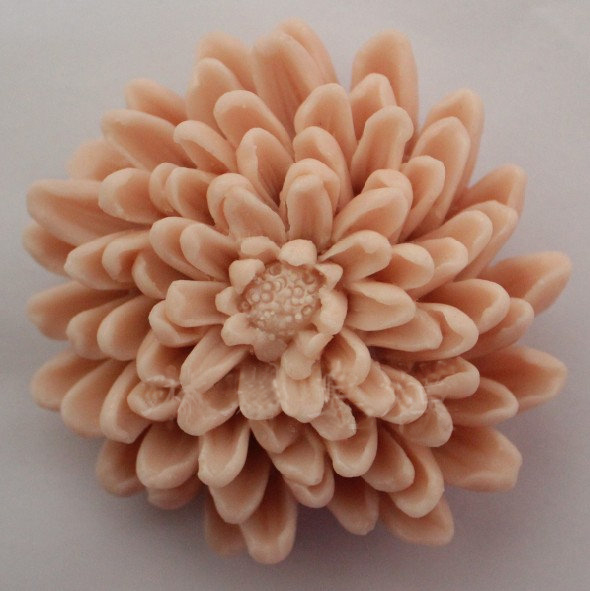 silicone mold Handmade soap mold font b food b font grade molds beautiful chrysanthemum shape mould