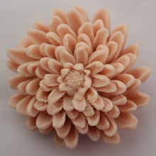 silicone mold Handmade soap mold food grade molds beautiful chrysanthemum shape mould aroma stone molds