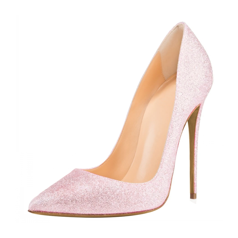 2018 Brand Fashion Women Pumps 12cm High Heel Pumps Shoes For Ladies Sexy Pointe Toe Party Wedding Shoes Woman SR-A0022