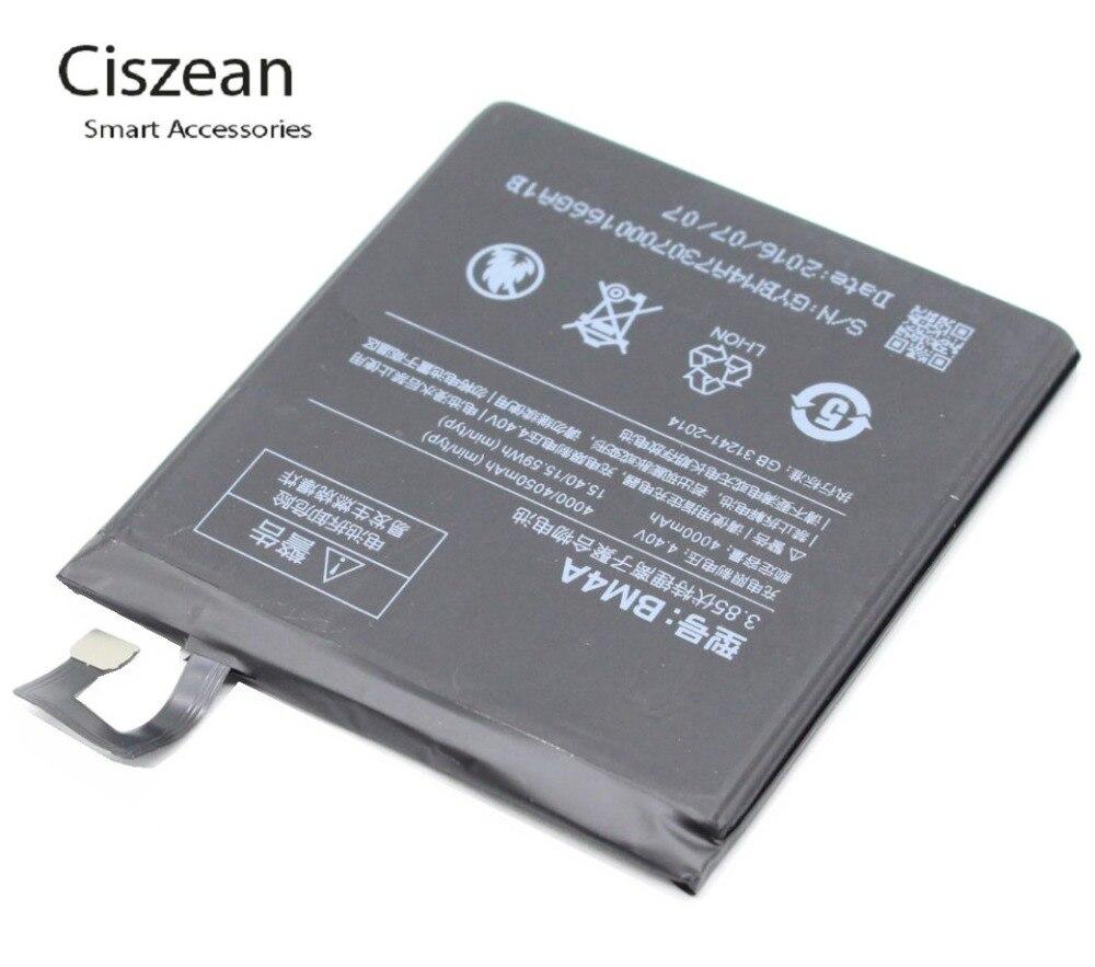 Ciszean Replacement-Battery Batterie Accumulator BM4A Xiaomi Redmi 4000mah 5PCS For Pro