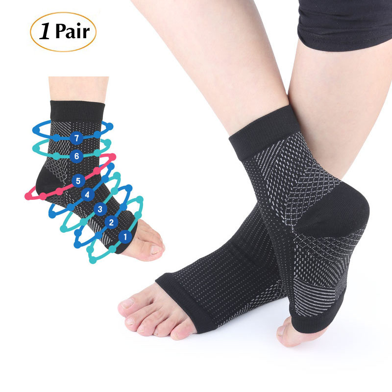 Plantar Fasciitis Socks Arch Support Foot Care Compression Sock Eases Swelling Heel Spurs Ankle Brace Suppor Relieve Pain Socks