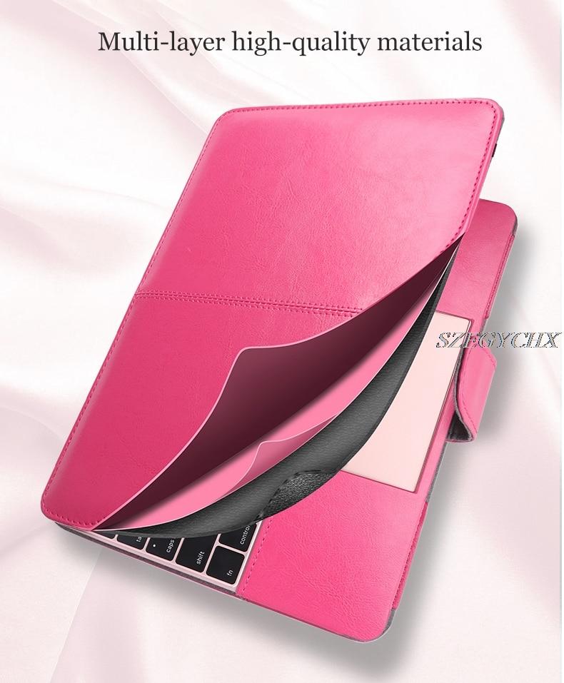 Shell Cover Laptop Case For Macbook Air 13 Pro Retina 11 12 13 15 - ლეპტოპის აქსესუარები - ფოტო 5