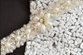 TOPQUEEN S155A Elegant Free shipping 100% pure handmade Wedding Appliques Pearls Beaded Evening Dresses Trimming