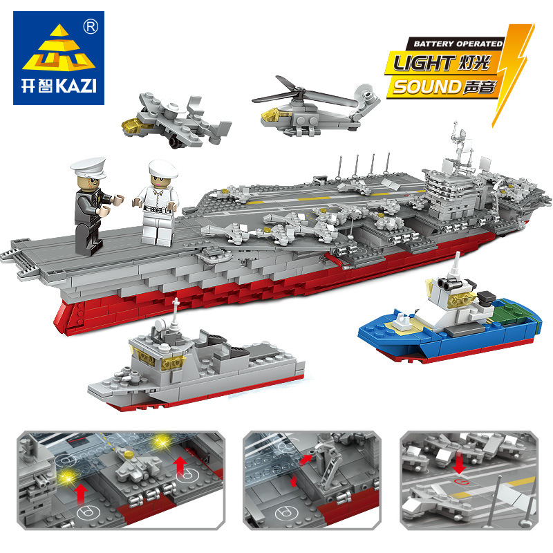 1868 sztuk granatowy wojskowy pancernik Bismarck klocki statek cegły budowlane okręt wojenny hobby LegoINGLs zabawki dla dzieci w Klocki od Zabawki i hobby na  Grupa 1