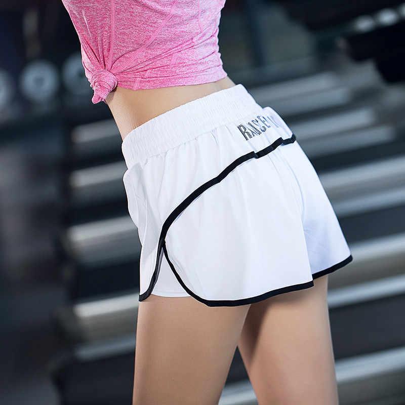Fitness joga szorty średniej zwężone szorty panie gimnastyka sportowe do biegania krótkie szorty do biegania budowy ciała